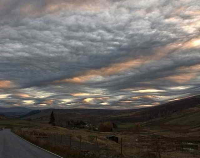 страшные облака