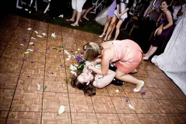 свадьба драка