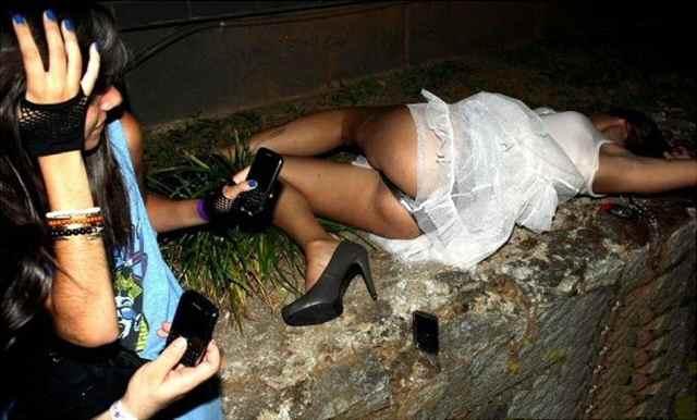 пьяная невеста
