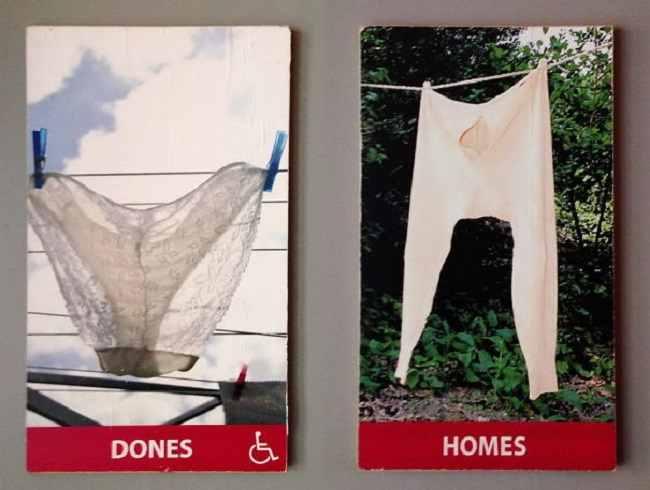 туалетные таблички