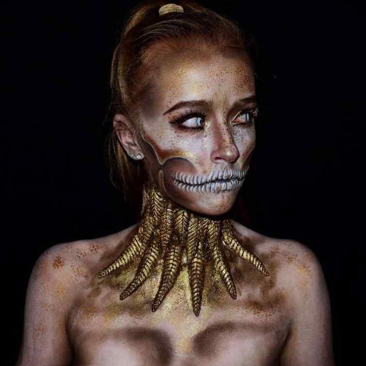 смертельный макияж