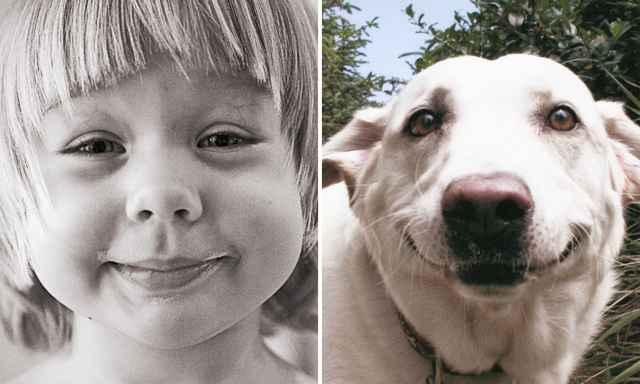 животные и дети смешные фотграфии