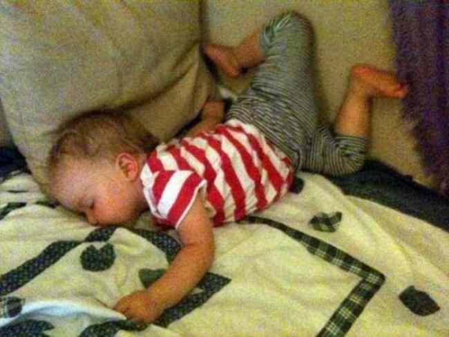 ребенок уснул