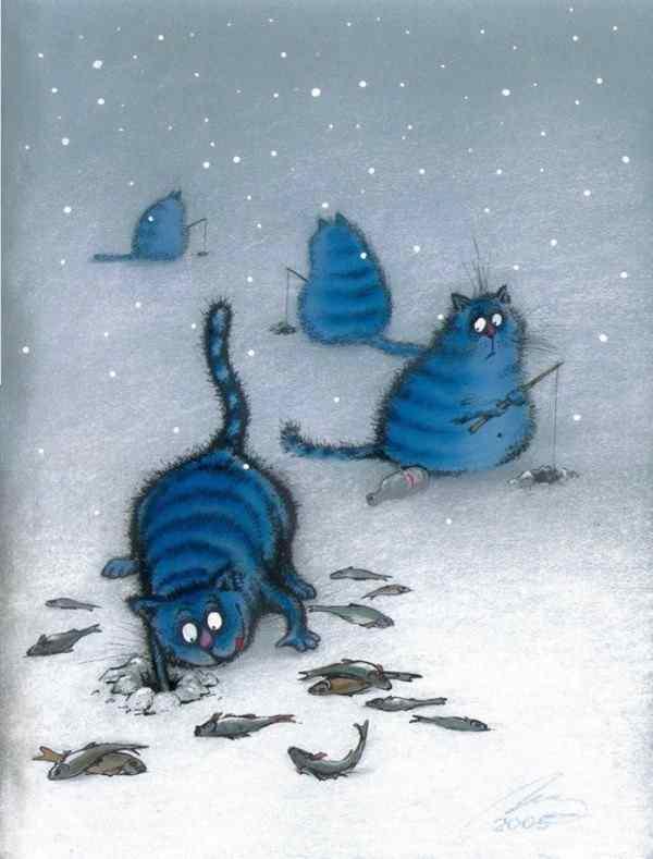 Удача или рисунки котов