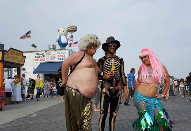 парад русалок Бруклин