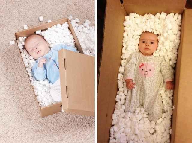 малыш и коробка
