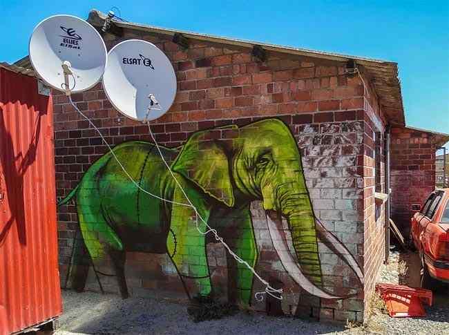 стрит-арт граффити