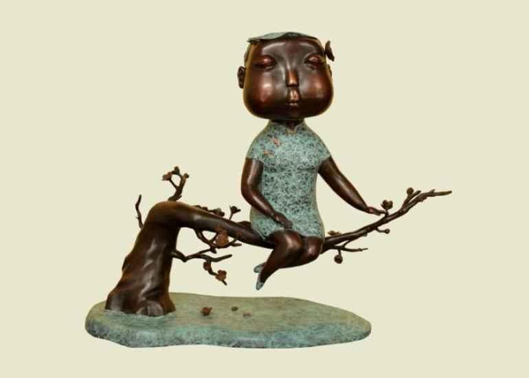 необычные китайские скульптуры