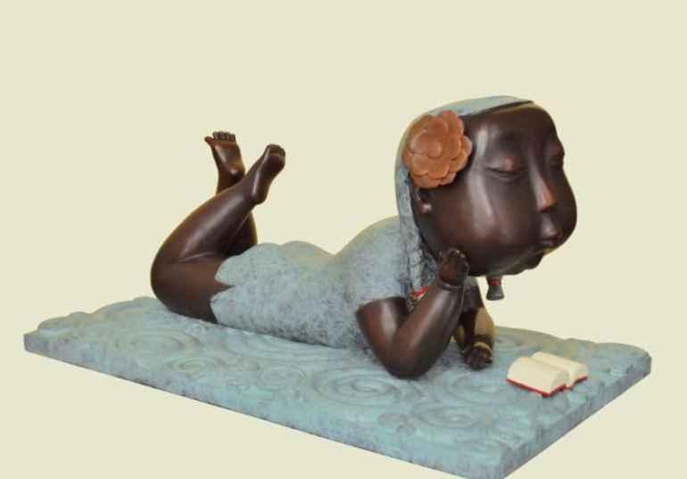 приятного чтения скульптура