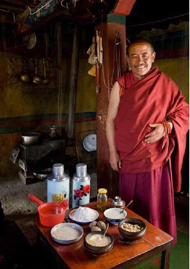 что едят монахи на Тибете