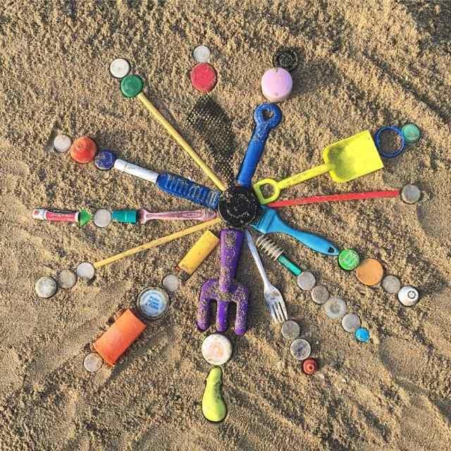 творчество на пляже