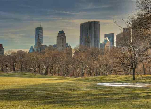 Центральный Парк в Нью Йорке 1
