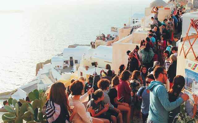 Остров Санторини в Греции 2
