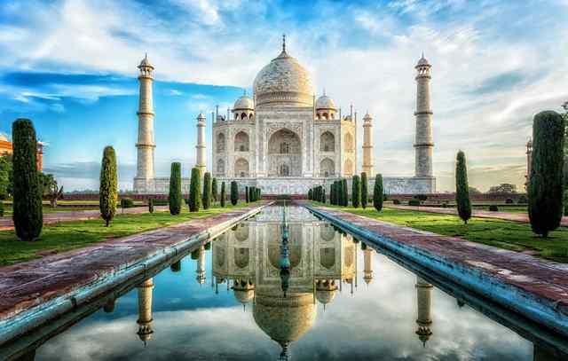 Тадж Махал в Индии 1