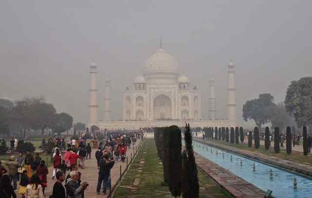Тадж Махал в Индии 2
