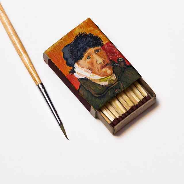 шедевры великих художников в миниатюре