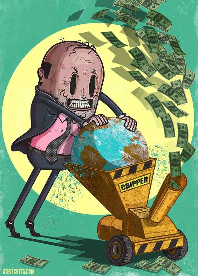 карикатуры про доллар