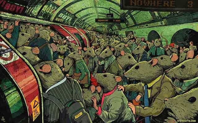 карикатуры о современном мире