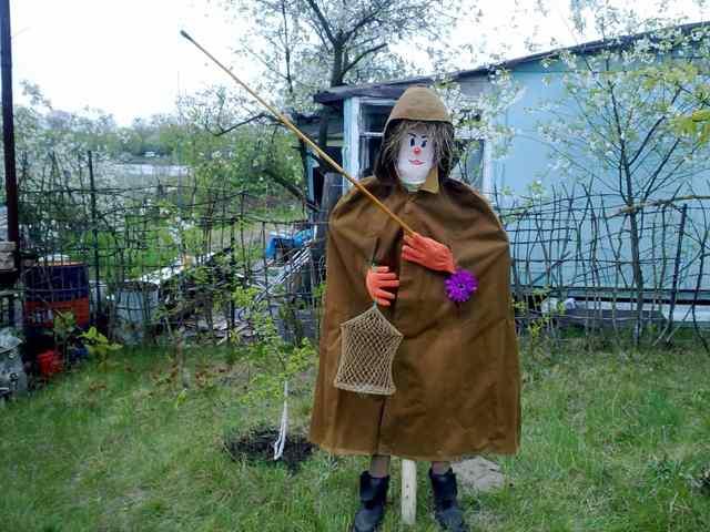 Чучело как сделать в огород