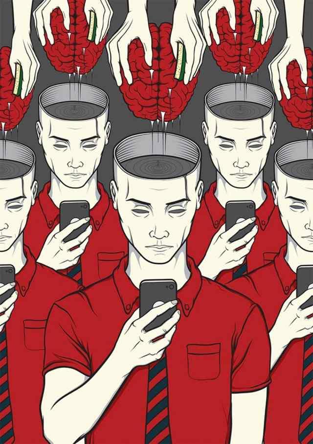телефонная зависимость