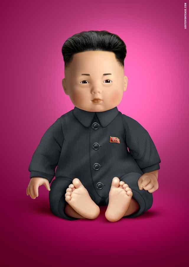 Ким Чен Ын кукла