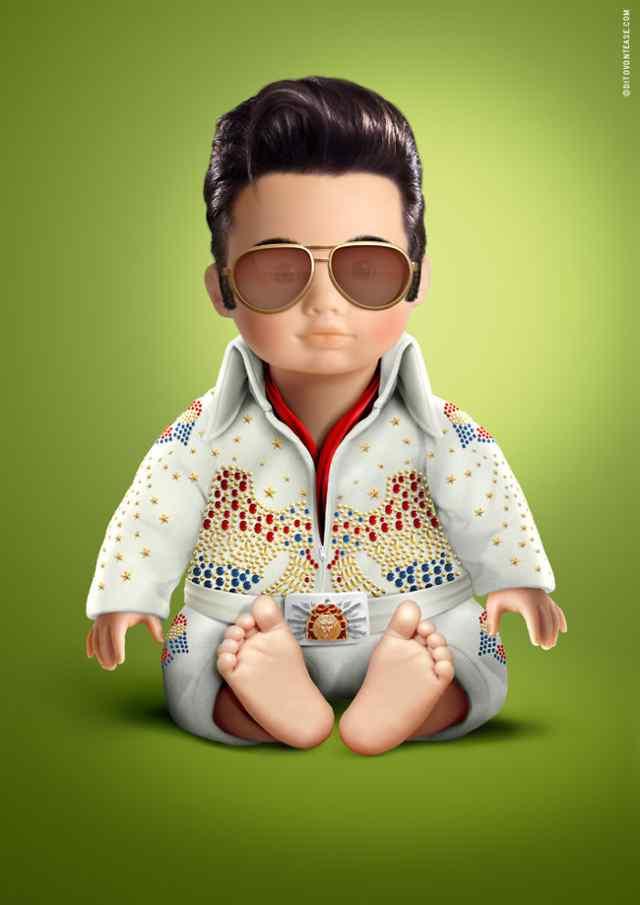 Элвис Пресли кукла