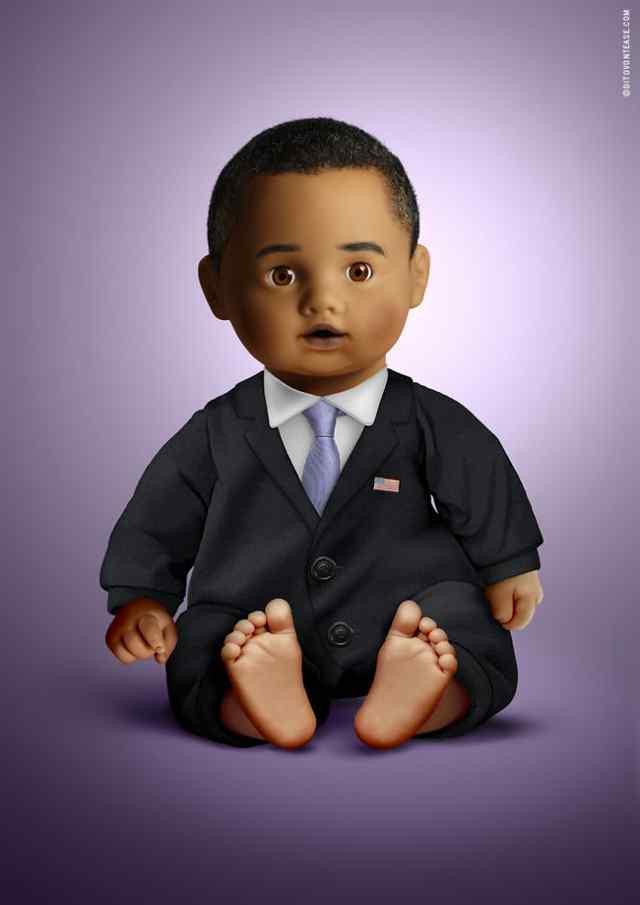 Барак Обама кукла