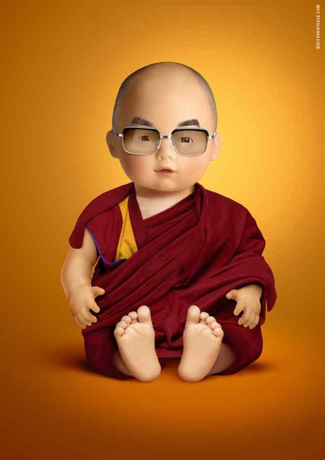 Далай Лама кукла