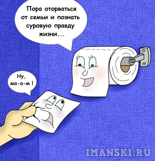 """Карикатура"""" Правда жизни"""" автор Игорь Иманский"""