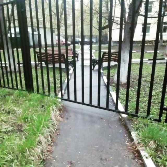 красиввые ворота