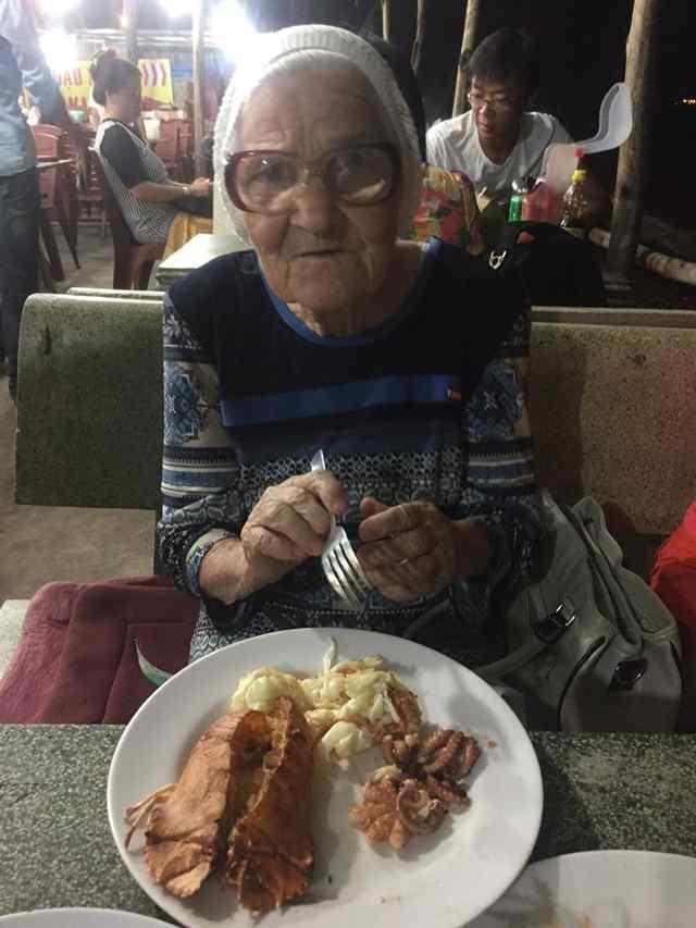 пожилая путешественница