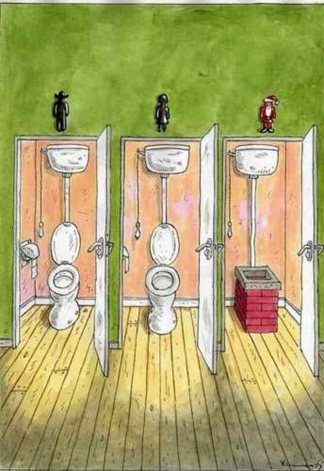 юмор про туалет
