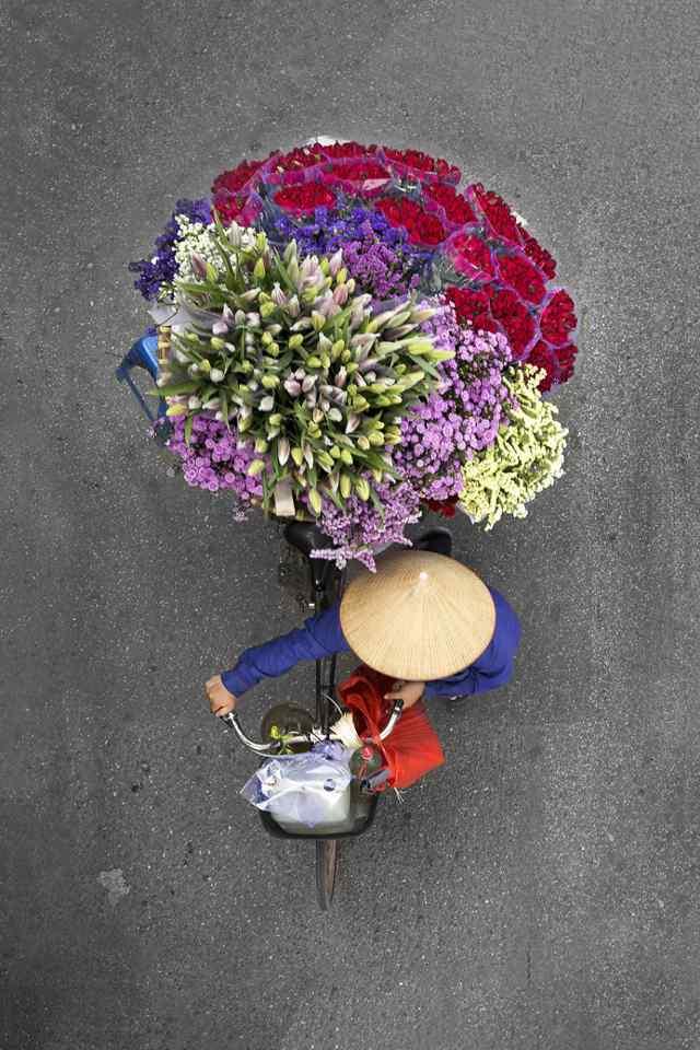 продавцы цветов Ханой