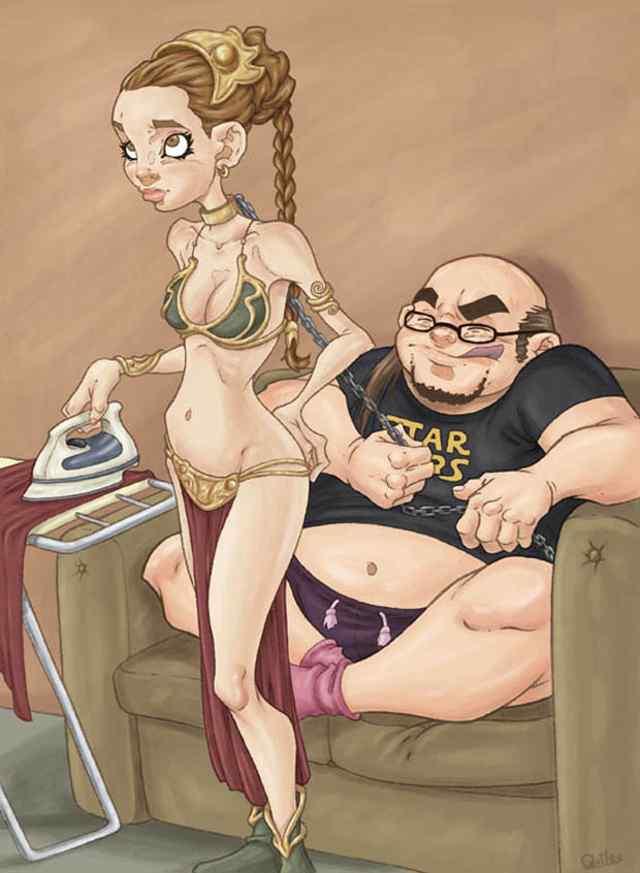 острая эротика в карикатурах испанского художника Luis Quiles