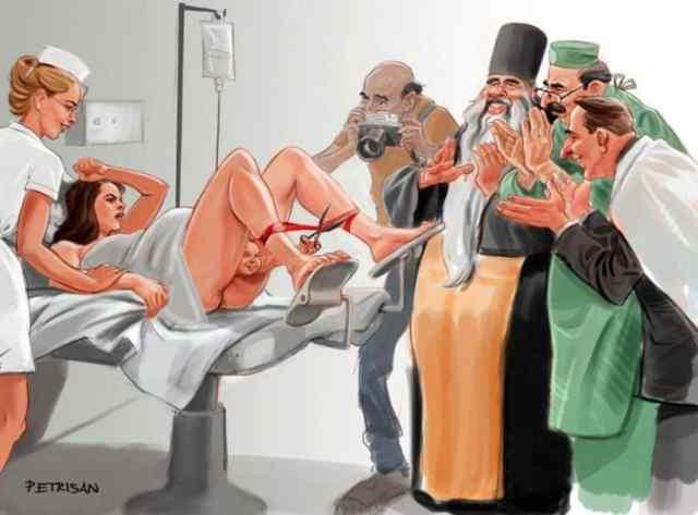 карикатура от Хортии Криштиана и Богдана Петри