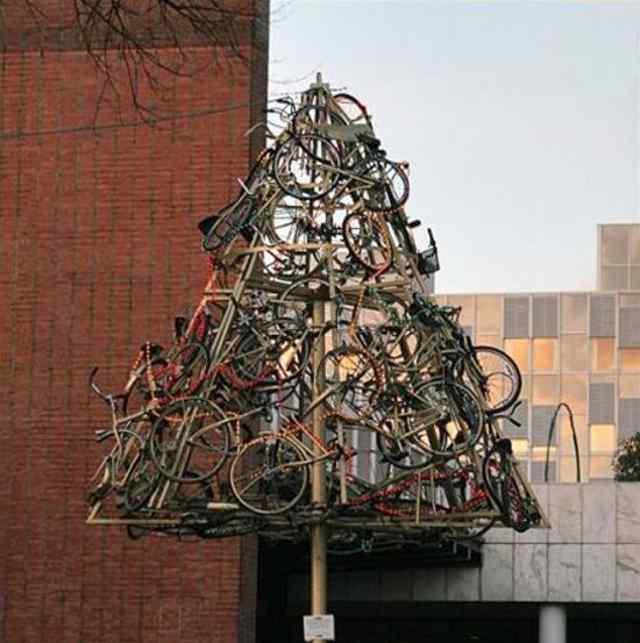 Смешные, рождественские ёлки