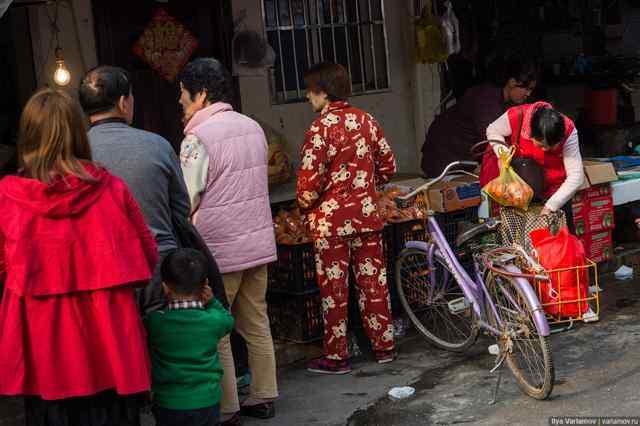 старики в Китае