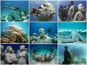 музей на дне океана