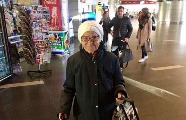 баба Лена путешественница