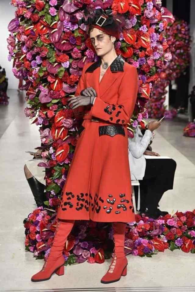 Неделя моды в Нью Йорке. Дизайнер Polomo.