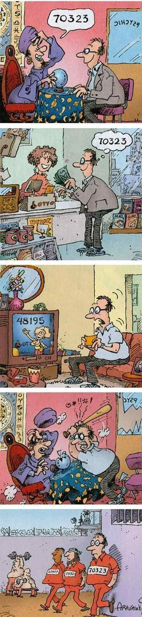 Комикс про судьбу.