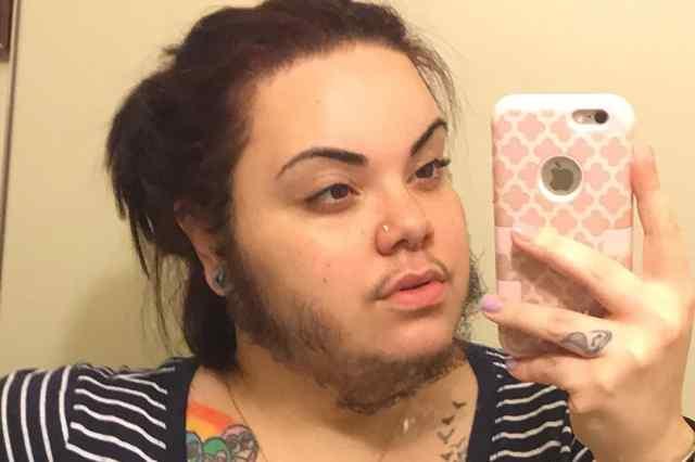 Женщина с бородой. Америка.