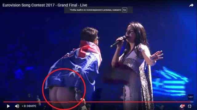 Евровидение 2017. Джамала и голая жопа.