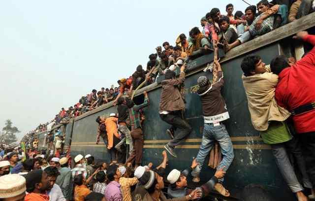 Бангладеш. Час пик в аду.